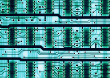Electronic circuit board devices Stock Images