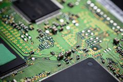 Electronic circuit board Stock Images