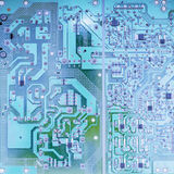 Electronic circuit board scheme background Royalty Free Stock Photo
