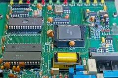 Electronic Circuit Board4 Royalty Free Stock Images