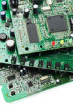 Electronic Circuit Boards Stock Photo