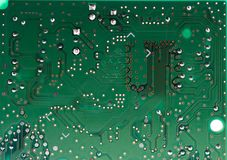 Electronic circuit Stock Images