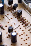 Electronic circuit close-up Stock Photography