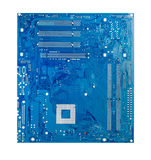 Electronic circuit computer Royalty Free Stock Images