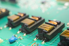 Electronic circuit Royalty Free Stock Photo
