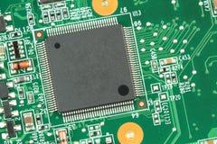 Electronic Circuit. macro image. Stock Images