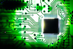 Electronic circuit Stock Image