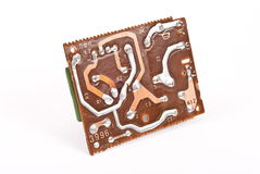 Electronic circuit plate Stock Photo