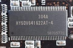 Electronic circuit plate Stock Photo