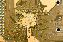 Electronic circuit plate Stock Photos