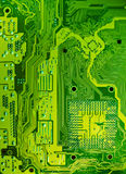 Electronic circuit texture Stock Photos