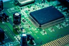 Electronic circuits Royalty Free Stock Photos