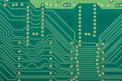 Electronic circut board Royalty Free Stock Photo