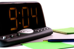 Electronic clock Royalty Free Stock Photo