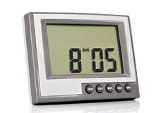 Electronic clock Stock Photo