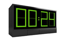 Electronic Clock Royalty Free Stock Photography