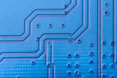 Electronic collection - computer circuit board Stock Image