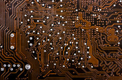Electronic collection - computer circuit board Stock Photos