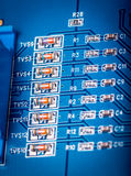 Electronic collection - computer circuit board Stock Photos