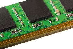 Electronic collection - computer random access memory (RAM) modu Stock Images