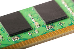 Electronic collection - computer random access memory RAM modu Stock Images