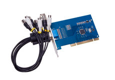 Electronic collection - Computer video capture card Stock Photography