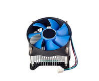 Electronic collection - CPU cooler Stock Images
