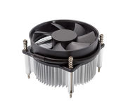 Electronic collection - CPU cooler Stock Image