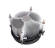 Electronic collection - CPU cooler Royalty Free Stock Photography