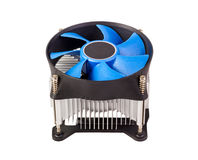 Electronic collection - CPU cooler Royalty Free Stock Images
