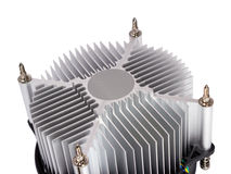 Electronic collection - CPU cooler Stock Photography