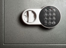 Electronic combinational lock Royalty Free Stock Image