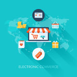 Electronic Commerce royalty free stock images