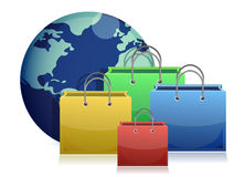 Electronic commerce concept Royalty Free Stock Photography