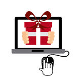 Electronic commerce Stock Photography