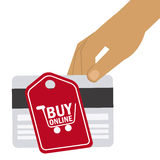 Electronic commerce Royalty Free Stock Image