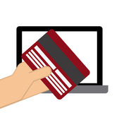 Electronic commerce Stock Photo
