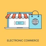 Electronic Commerce Stock Image