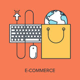 Electronic Commerce Royalty Free Stock Photos
