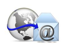 Electronic communication Royalty Free Stock Photo