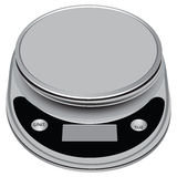 Electronic compact scale Royalty Free Stock Images