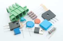 Electronic Component. Prepare and develop Electronic New Project Royalty Free Stock Photography