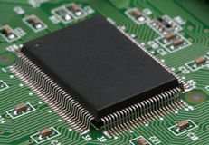 Electronic component Stock Photos