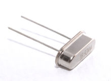 Electronic component. It is electronic components: crystal oscillator Stock Photography