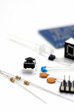 Electronic components. Royalty Free Stock Photography