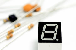 Electronic components. Stock Photography