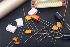 Electronic components Royalty Free Stock Photography