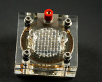 Electronic components and devices Royalty Free Stock Photography
