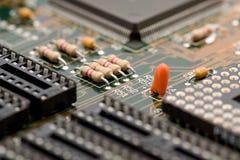 Electronic components macro Stock Photography