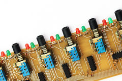 Electronic components Stock Photography